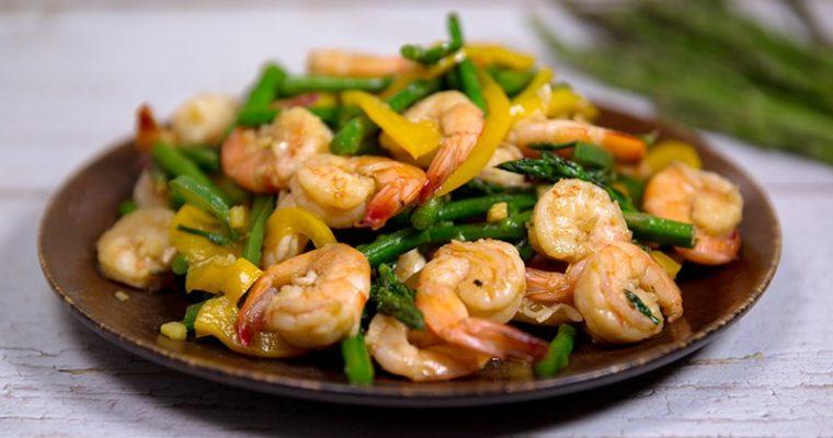 shrimp asparagus recipes