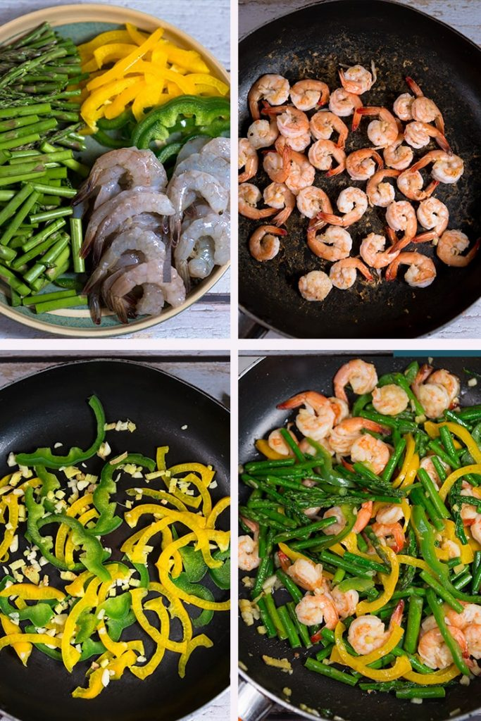 How to Make Shrimp Asparagus Stir-Fry