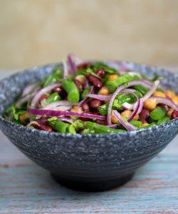three bean salad recipes