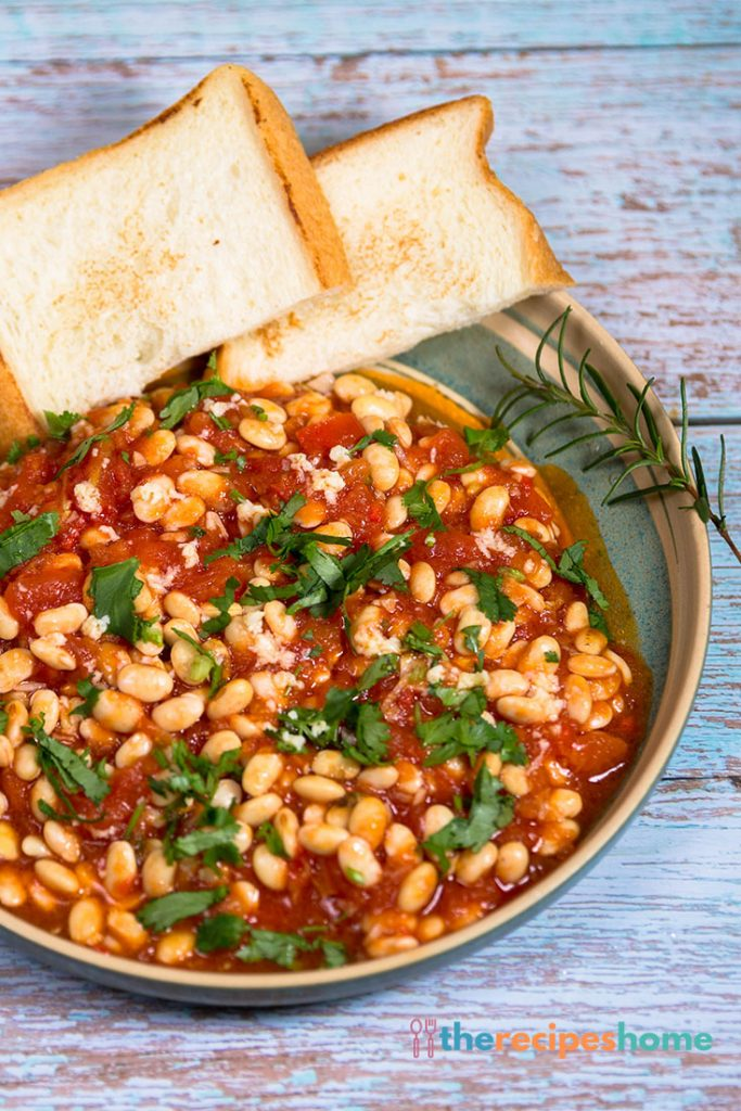 How to make Arrabbiata Beans