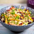 Asian cabbage salad dressing