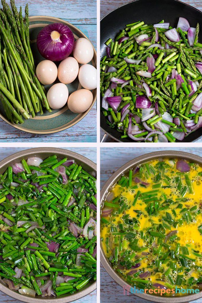 How to make Asparagus Frittata recipes!