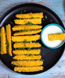 How to make Baked Zucchini Fries recipes !