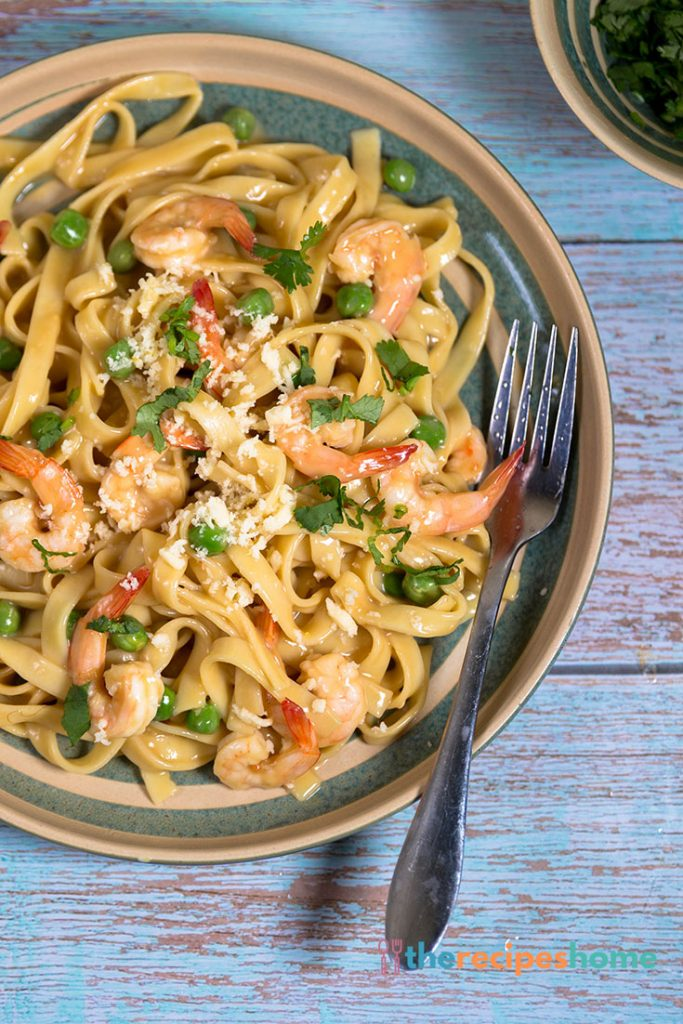 How to make Cream-Free Shrimp Alfredo recipes!