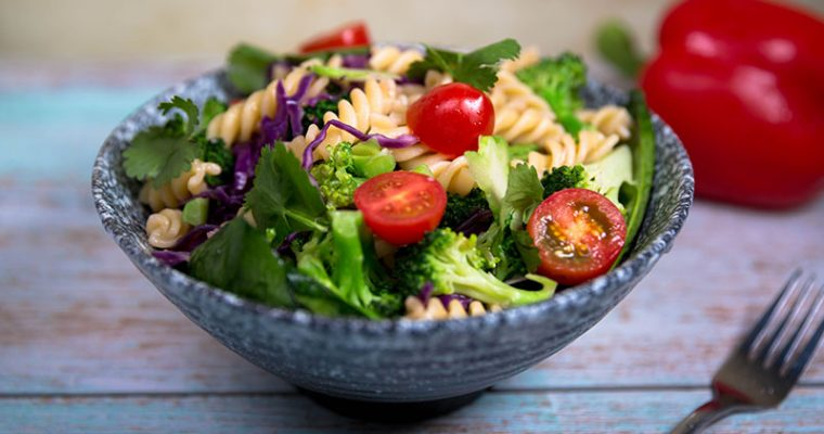 pasta salad recipe vegetarian