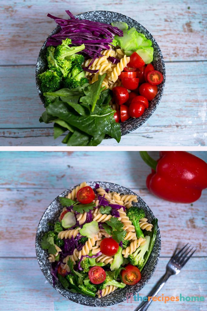 How to make Pasta and Vegetable Salad recipes!