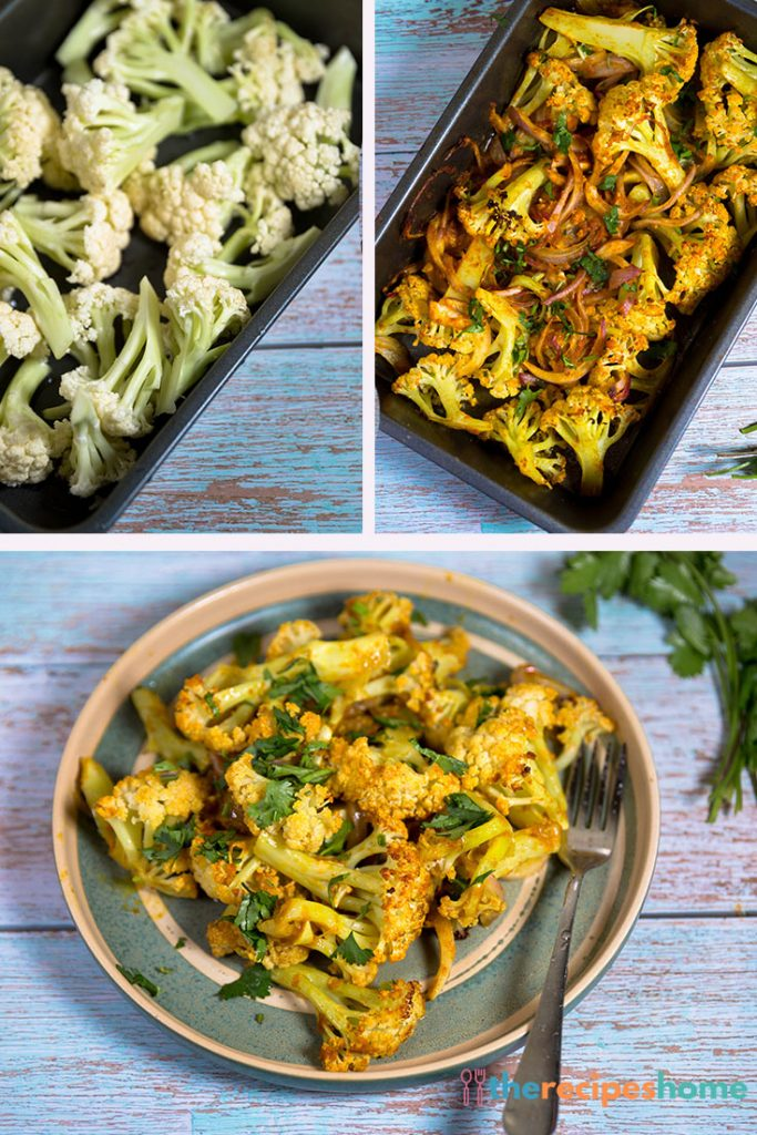 How to Roasted Curried Cauliflower recipes!