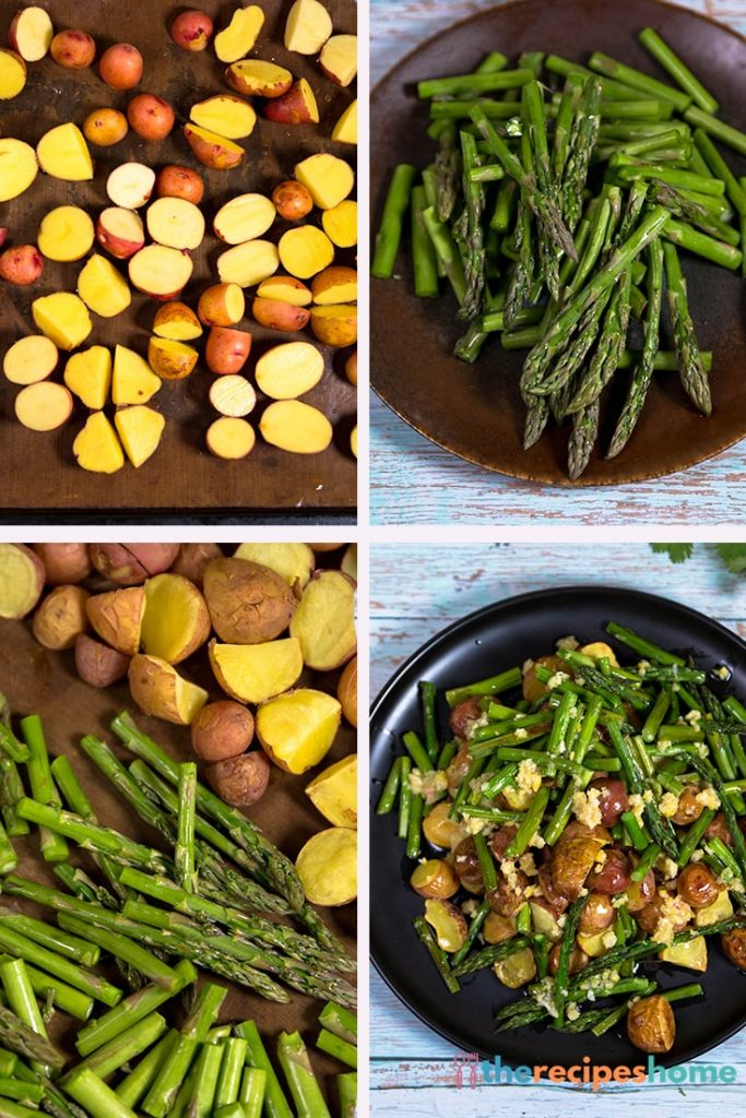 how to roasted potatoes and asparagus recipes!