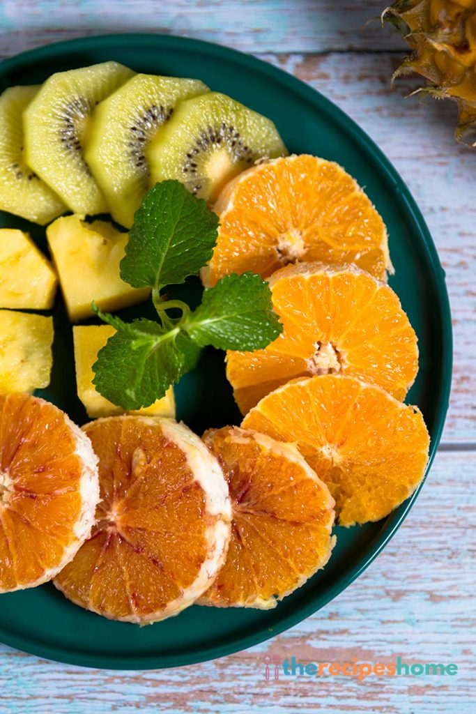HOW DO YOU MAKE TROPICAL FRUIT SALAD?