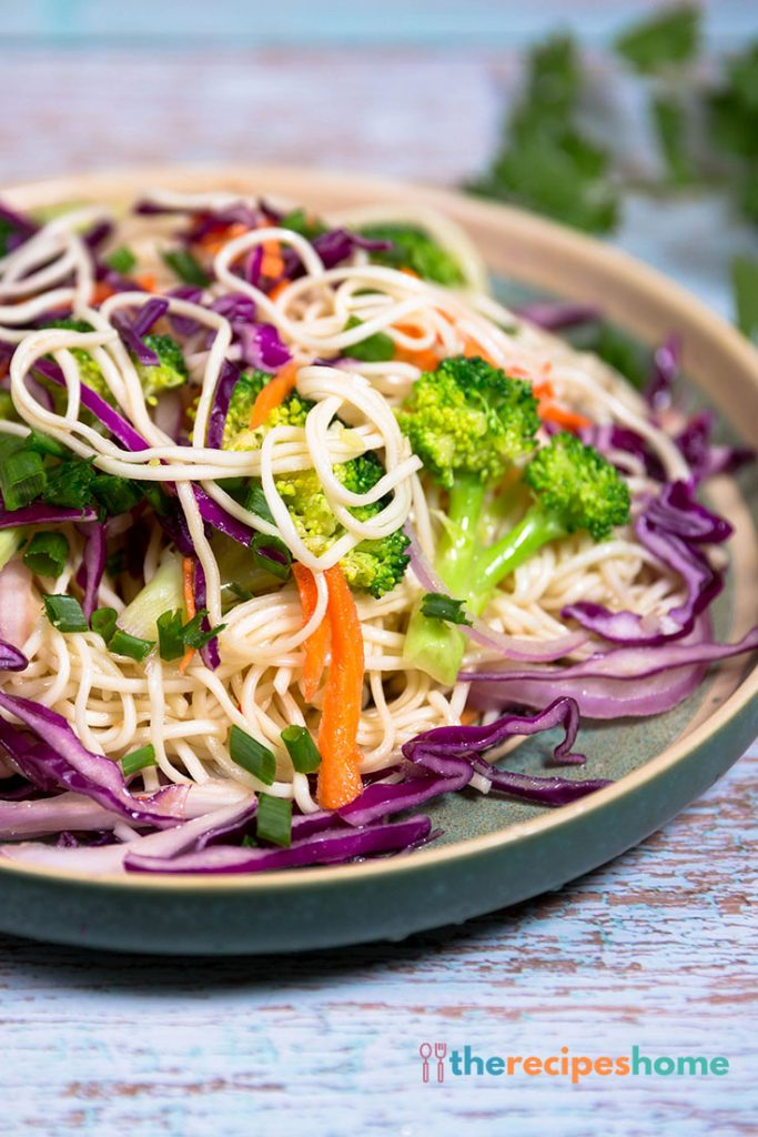 How to make asian noodle salad recipe!