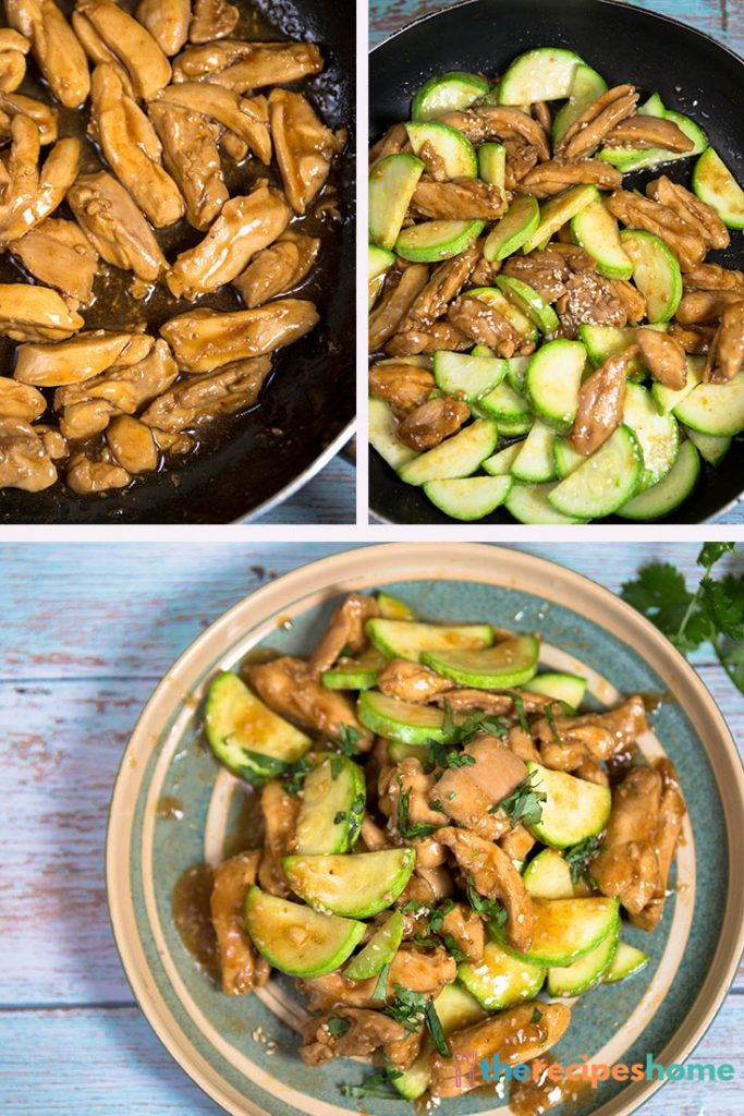 How to make chicken zucchini stir fry recipes!