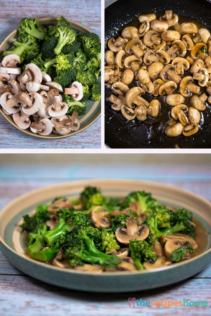 How to make mushroom broccoli stir fry recipes!