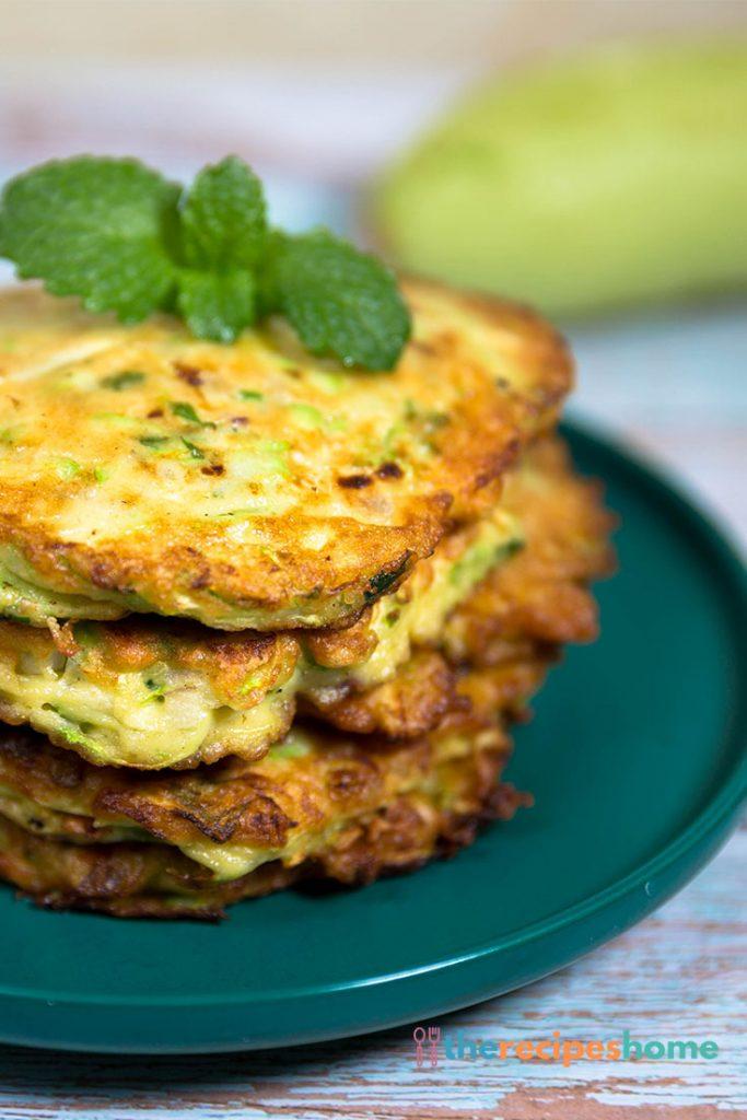 How to make zucchini pancakes recipes!