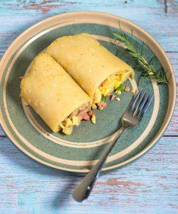 sausage breakfast burritos