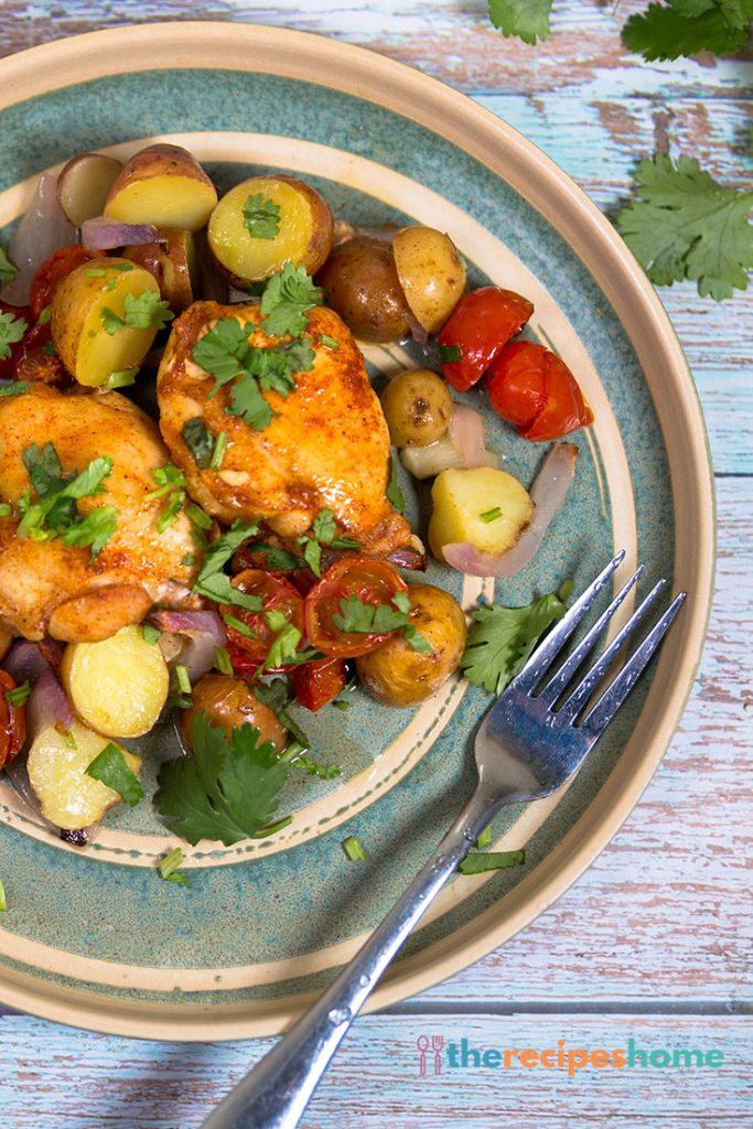 One Pan Chicken with Potatoes