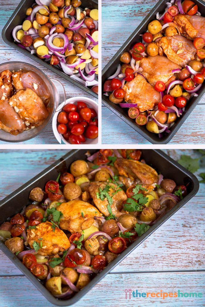 How to make One-Pan Paprika Chicken with Potatoes