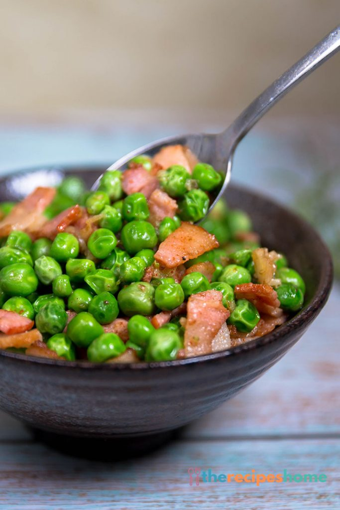 How to make Peas with Bacon recipes