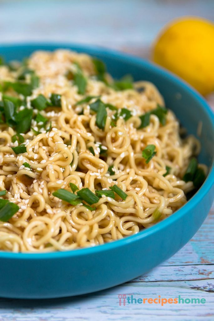 How to make Sesame Ramen Noodles recipes