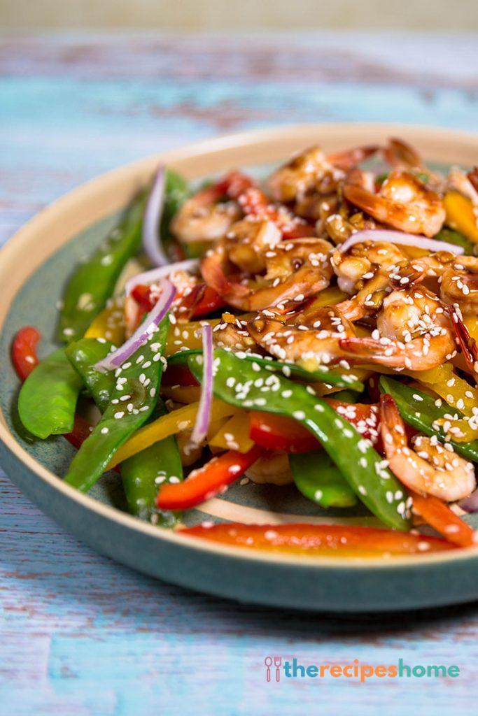 Teriyaki Shrimp Stir Fry Recipe