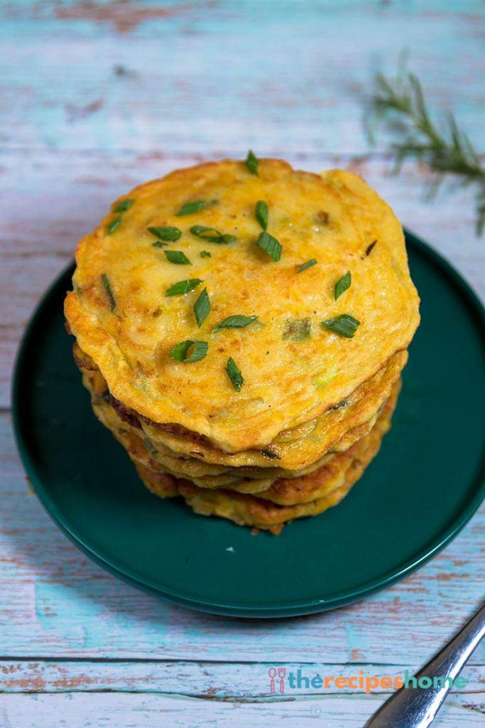 How to make squash and chive pancakes recipes