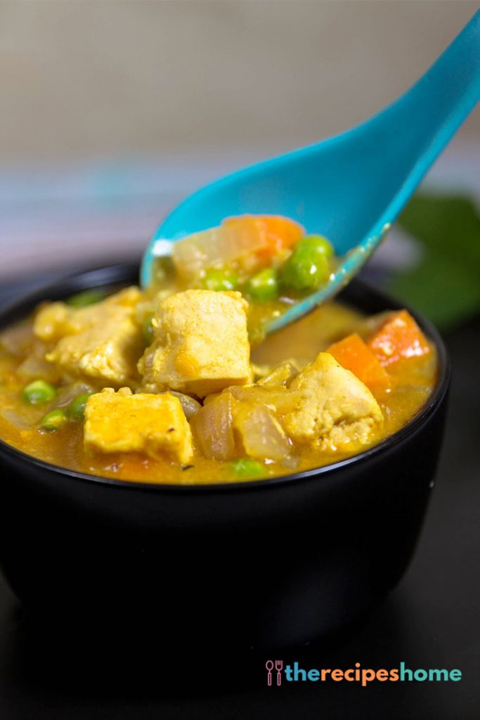 How to make chicken curry soup