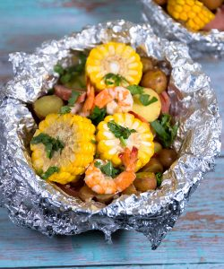 shrimp boil foil packets recipes