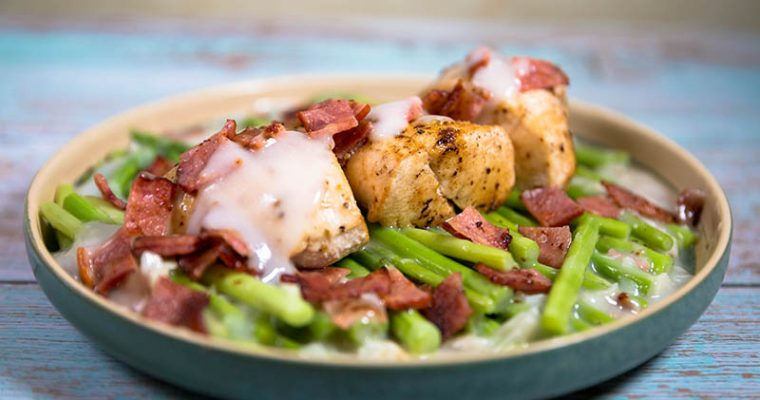 chicken bacon asparagus