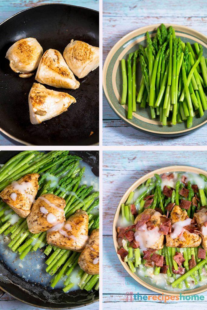 chicken bacon asparagus