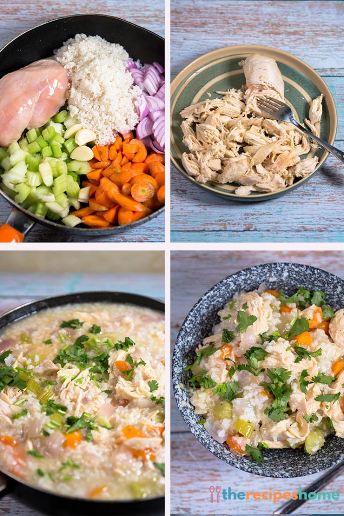 One-Pot Chicken and Rice Soup